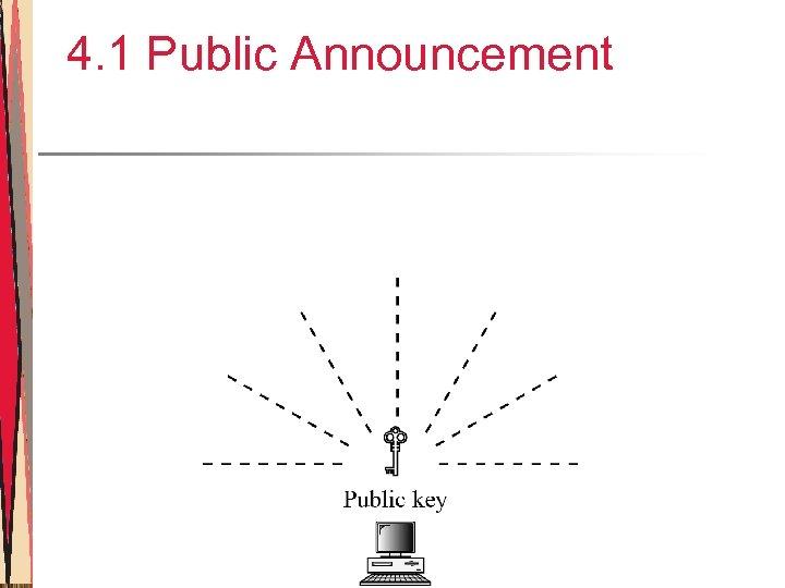 4. 1 Public Announcement