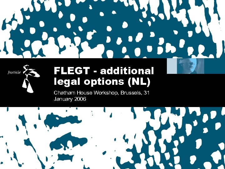 FLEGT - additional legal options (NL) Chatham House Workshop, Brussels, 31 January 2006