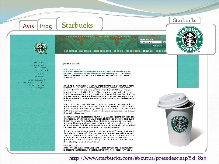 """Avis Frog Starbucks > 3 Hrs Closure, in working time, for Employee Training! """"Our"""
