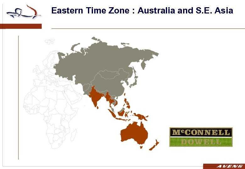 Eastern Time Zone : Australia and S. E. Asia