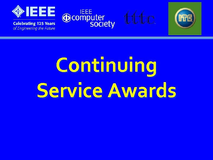 Continuing Service Awards