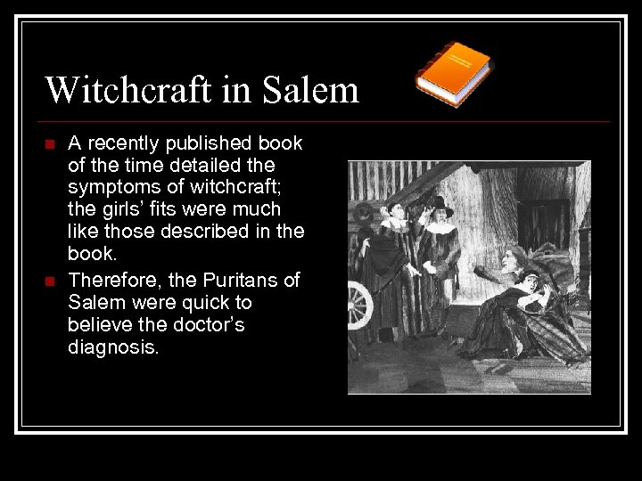 an analysis of the witch trail in the true devils in salem in the crucible by arthur miller The salem witch trials were a time period in which there was mass chaos and very little reason in, the crucible, by arthur miller, there were an elect group of people that overcame this hysteria of the trials among the people of reason arose, reverend hale, who displayed both sides of the hysteria.