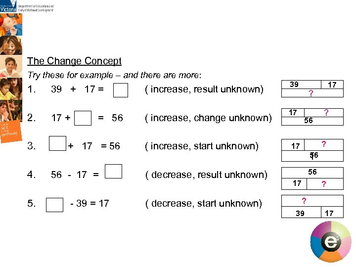 The Change Concept Try these for example – and there are more: 1. 39