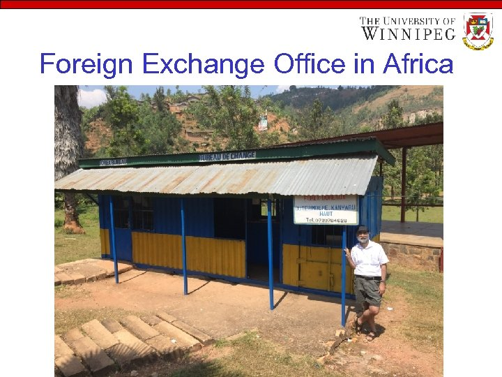 Foreign Exchange Office in Africa