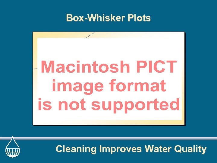 Box-Whisker Plots Cleaning Improves Water Quality