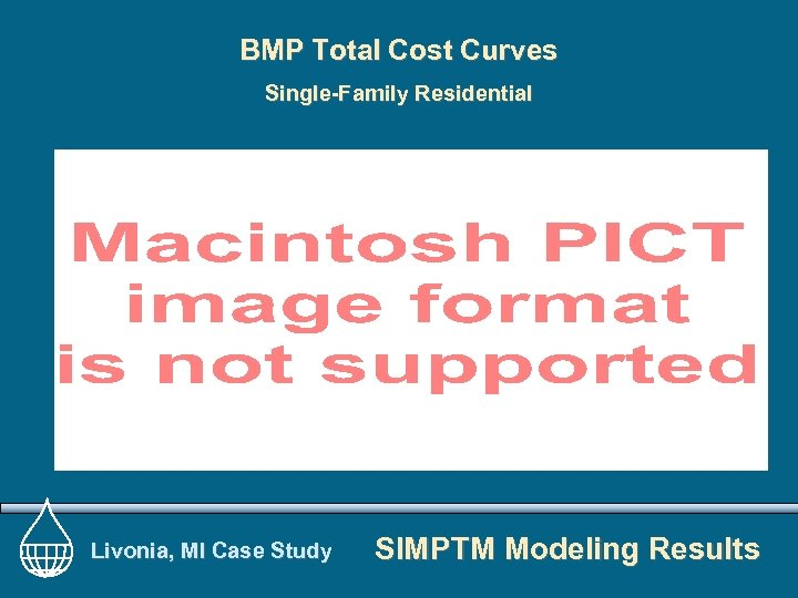 BMP Total Cost Curves Single-Family Residential Livonia, MI Case Study SIMPTM Modeling Results