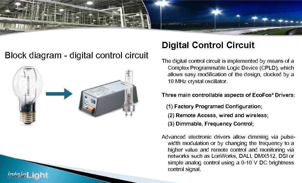 Digital Control Circuit Block diagram - digital control circuit The digital control circuit is