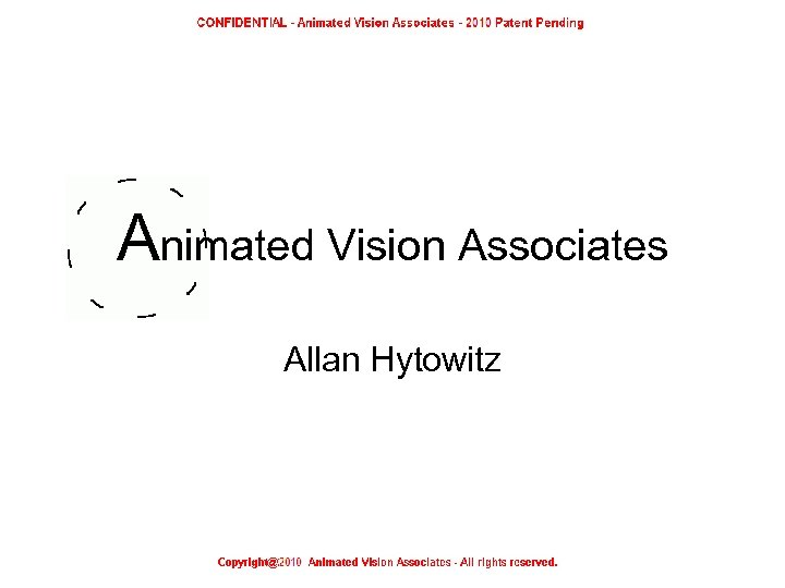 Animated Vision Associates Allan Hytowitz