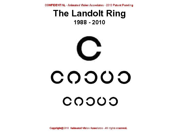 The Landolt Ring 1988 - 2010