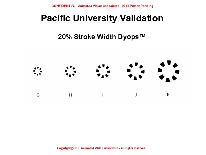 Pacific University Validation 20% Stroke Width Dyops™