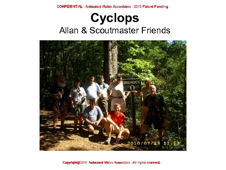 Cyclops Allan & Scoutmaster Friends