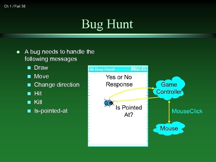 Ch 1 / Foil 36 Bug Hunt l A bug needs to handle the