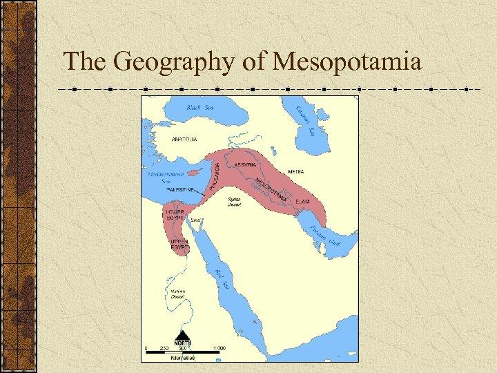 The Geography of Mesopotamia