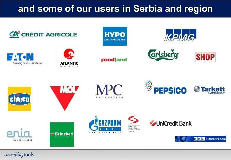 and some of our users in Serbia and region 27