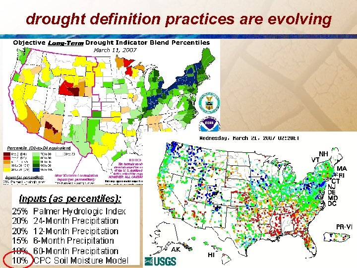 drought definition practices are evolving