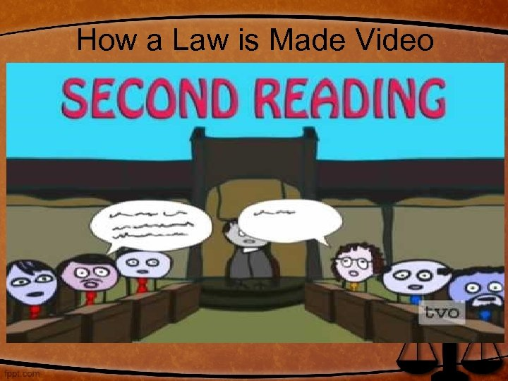 How a Law is Made Video