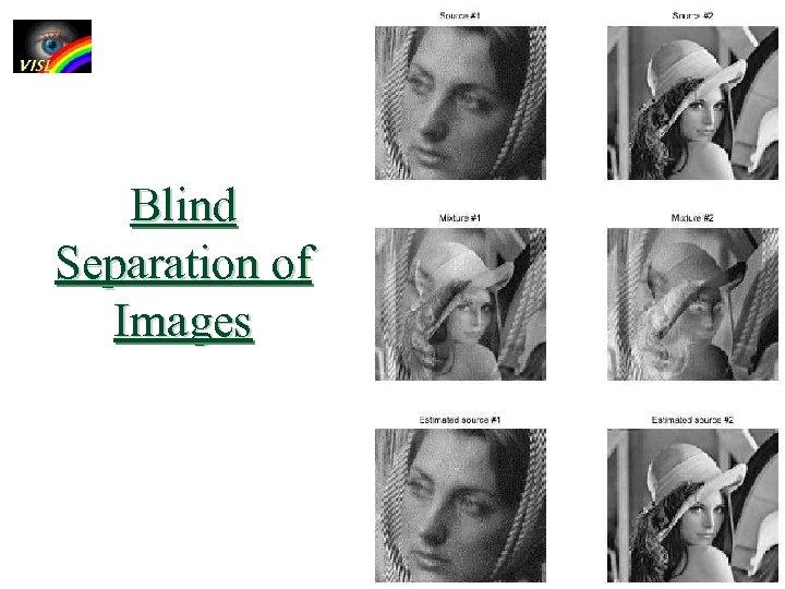 Blind Separation of Images