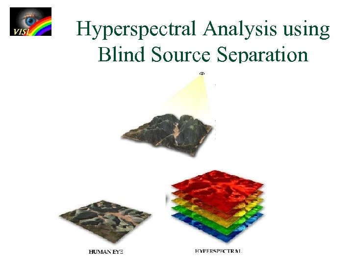Hyperspectral Analysis using Blind Source Separation