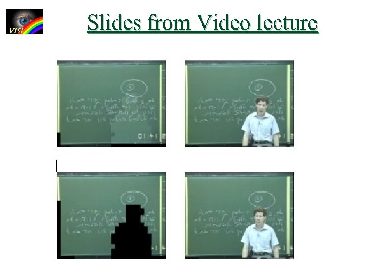 Slides from Video lecture
