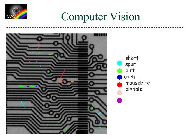 Computer Vision short spur dirt open mousebite pinhole
