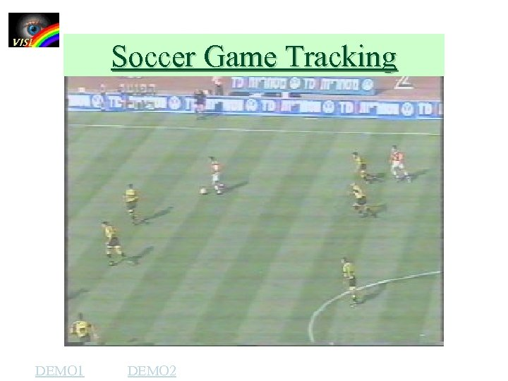 Soccer Game Tracking DEMO 1 DEMO 2