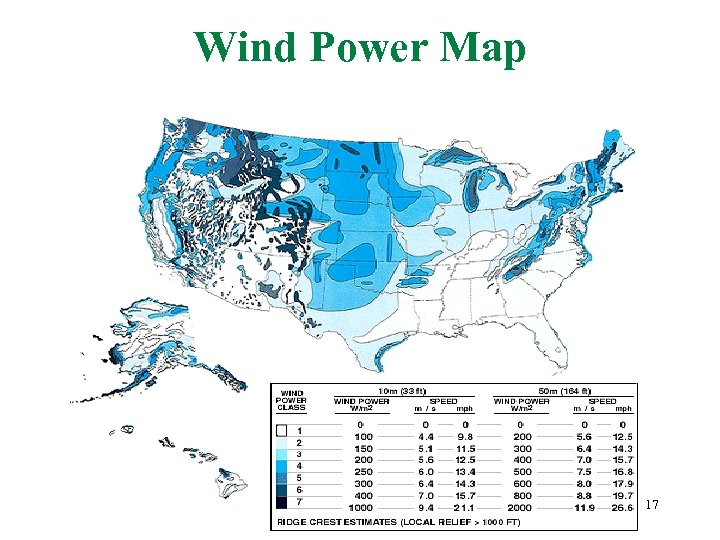 Wind Power Map 17
