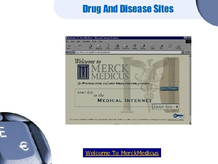 Drug And Disease Sites Welcome To Merck. Medicus