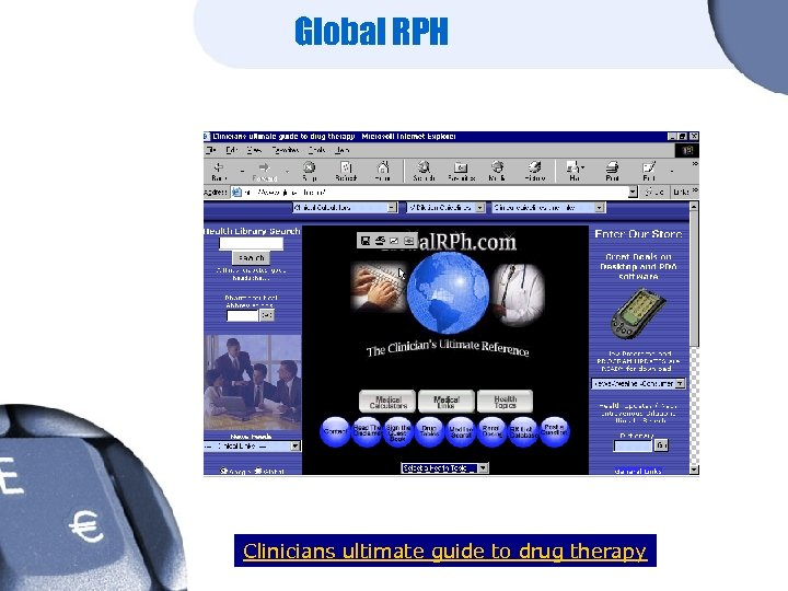 Global RPH Clinicians ultimate guide to drug therapy