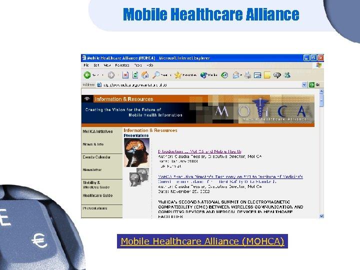 Mobile Healthcare Alliance (MOHCA)