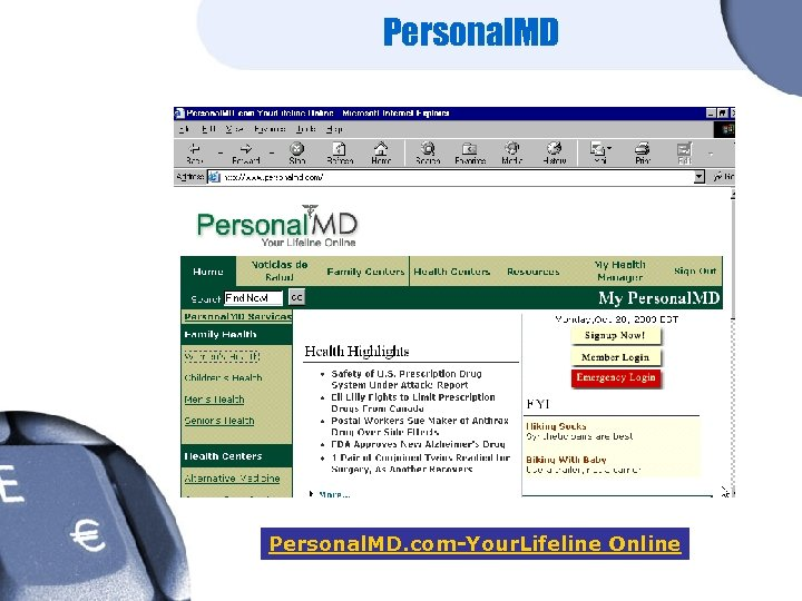 Personal. MD. com-Your. Lifeline Online
