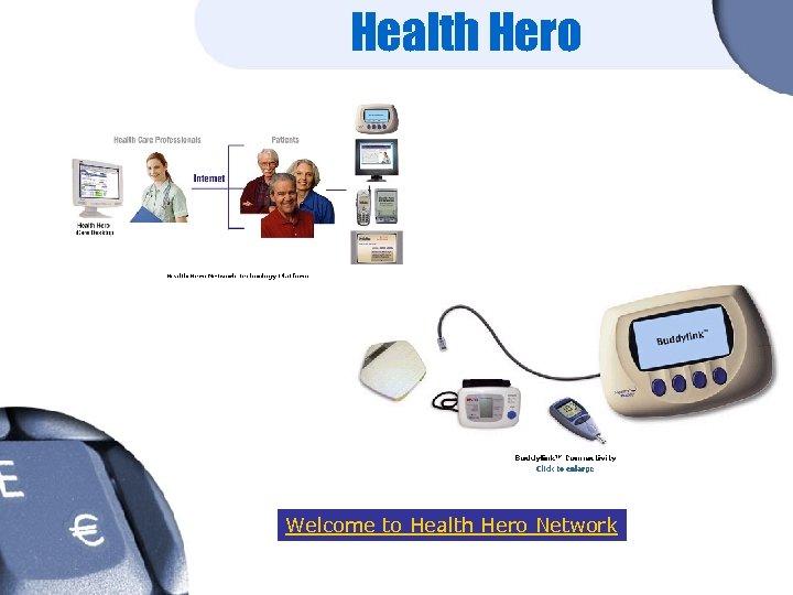 Health Hero Welcome to Health Hero Network