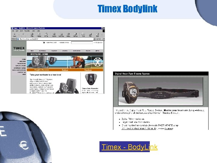 Timex Bodylink Timex - Body. Link