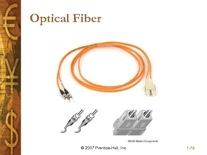Optical Fiber © 2007 Prentice-Hall, Inc 1 -79