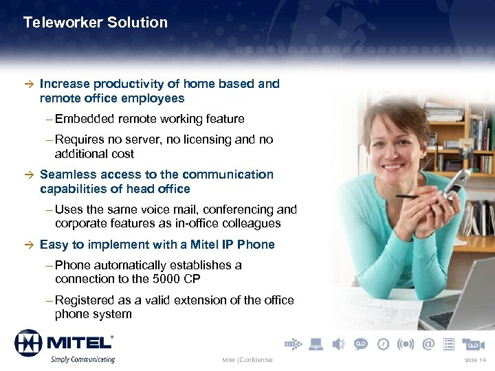 Teleworker Solution à Increase productivity of home based and remote office employees – Embedded