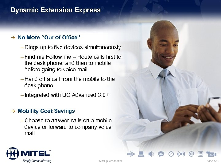 """Dynamic Extension Express à No More """"Out of Office"""" – Rings up to five"""