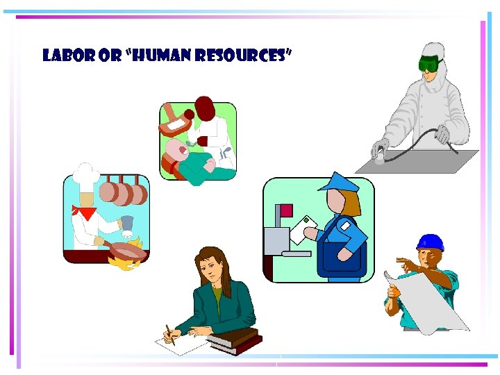 "Labor or ""Human Resources"""