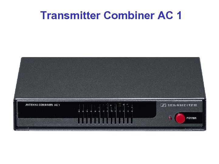Transmitter Combiner AC 1