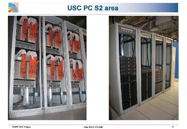 USC PC S 2 area TWEPP 2007, Prague Attila RACZ / PH-CMD 13