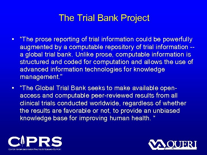 """The Trial Bank Project • """"The prose reporting of trial information could be powerfully"""