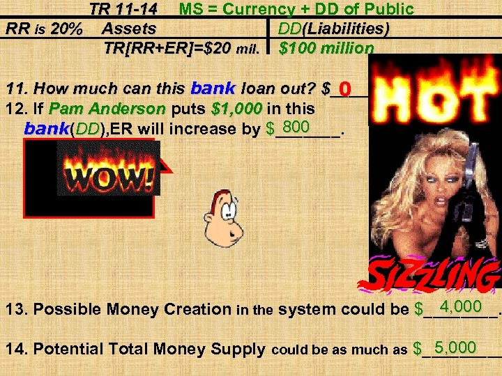 TR 11 -14 MS = Currency + DD of Public RR is 20% Assets