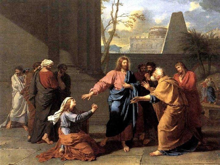 En el Evangelio, Jesús exalta la fe de una mujer Cananea, considerada pagana por