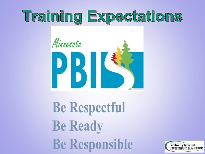 Training Expectations