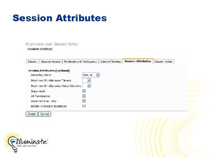 Session Attributes