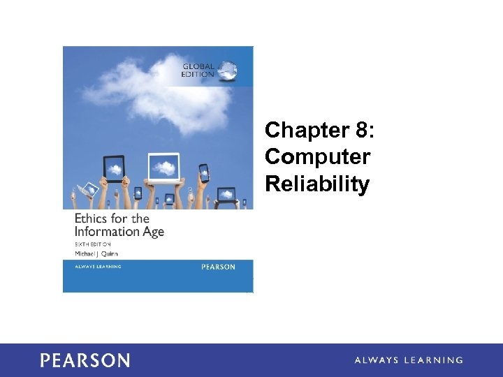 Chapter 8: Computer Reliability 1 -