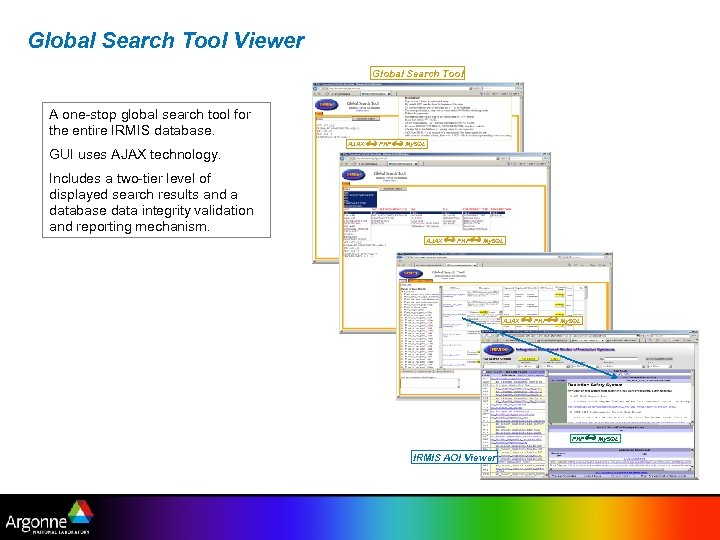 Global Search Tool Viewer Global Search Tool A one-stop global search tool for the