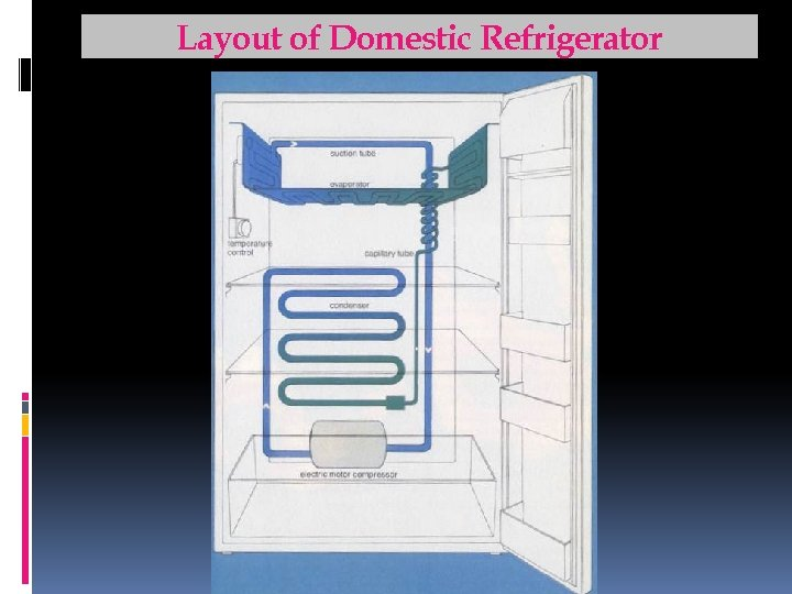 Layout of Domestic Refrigerator For Support notes, please visit: www. arpradeep. tk