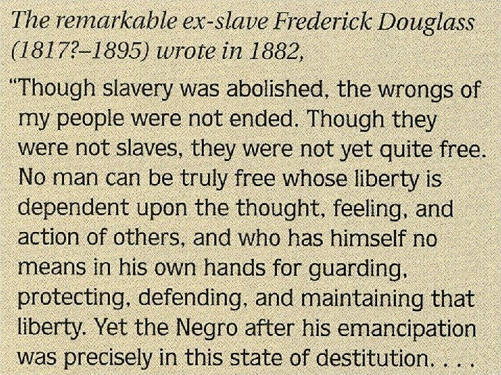 Quote by Frederick Douglass 1