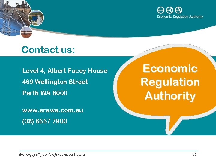 Contact us: Level 4, Albert Facey House 469 Wellington Street Perth WA 6000 Economic