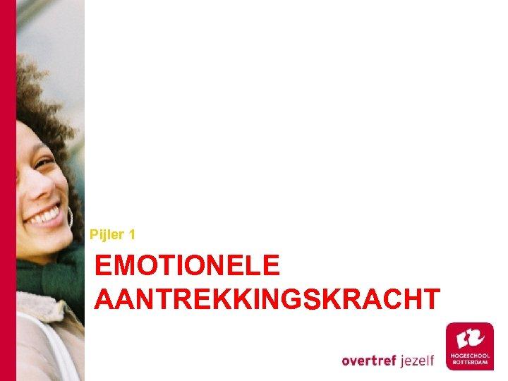 Pijler 1 EMOTIONELE AANTREKKINGSKRACHT