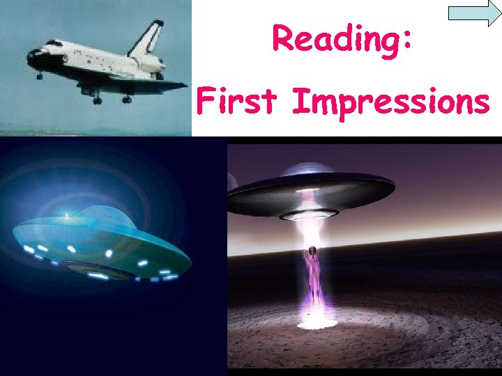 Reading: First Impressions